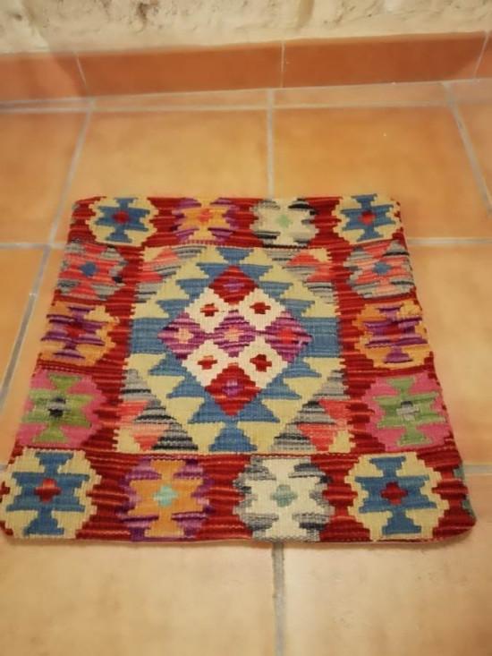 Fodera Cuscino stile afgano  14 misura 45x45 cm