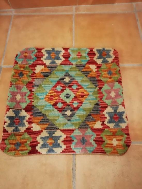 Fodera Cuscino stile afgano  15 misura 45x45 cm