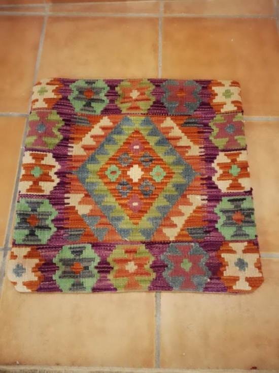 Fodera Cuscino stile afgano  18 misura 45x45 cm