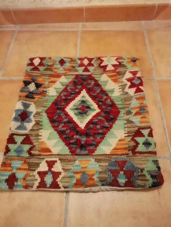Fodera Cuscino stile afgano  19 misura 45x45 cm