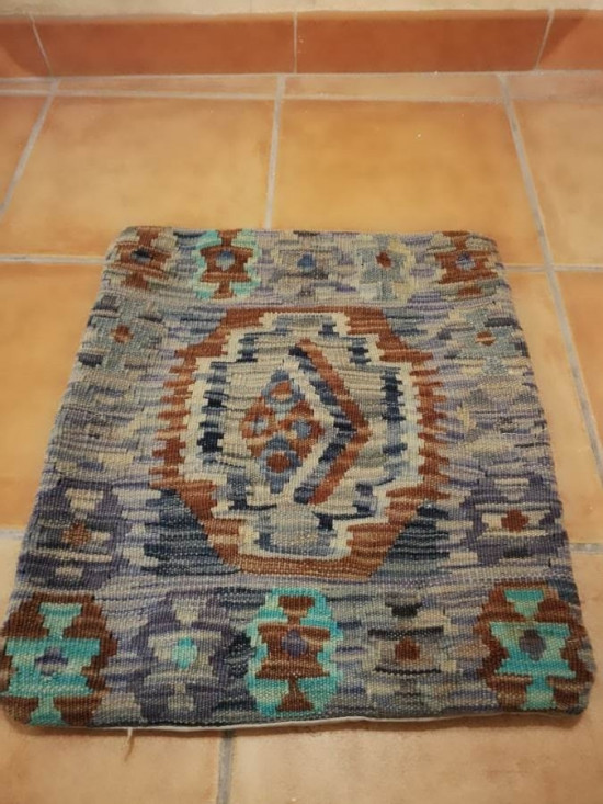 Fodera Cuscino stile afgano  20 misura 45x45 cm