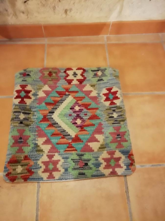 Fodera Cuscino stile afgano  21 misura 45x45 cm