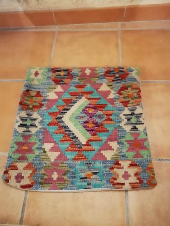 Fodera Cuscino stile afgano  22 misura 45x45 cm