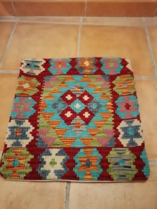 Fodera Cuscino stile afgano  25 misura 45x45 cm