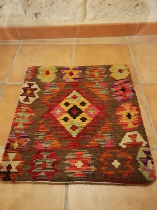 Fodera Cuscino stile afgano  28 misura 45x45 cm