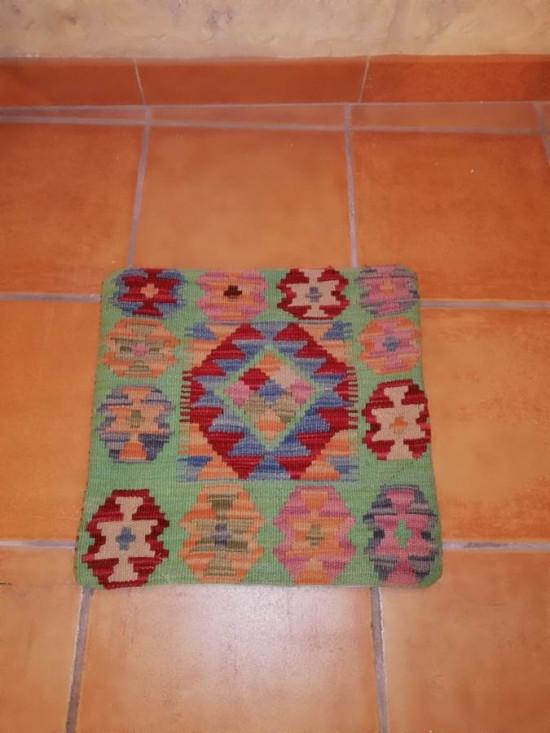 Fodera Cuscino stile afgano  29 misura 45x45 cm