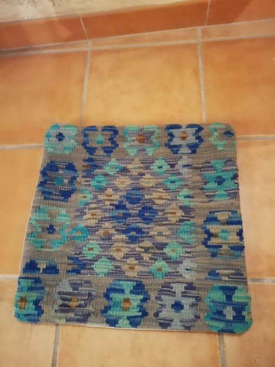Fodera Cuscino stile afgano  30 misura 45x45 cm