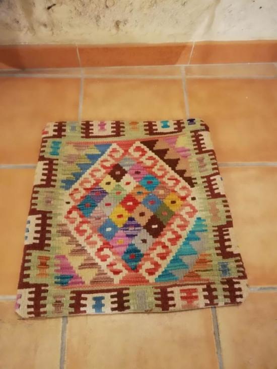 Fodera Cuscino stile afgano  33 misura 45x45 cm