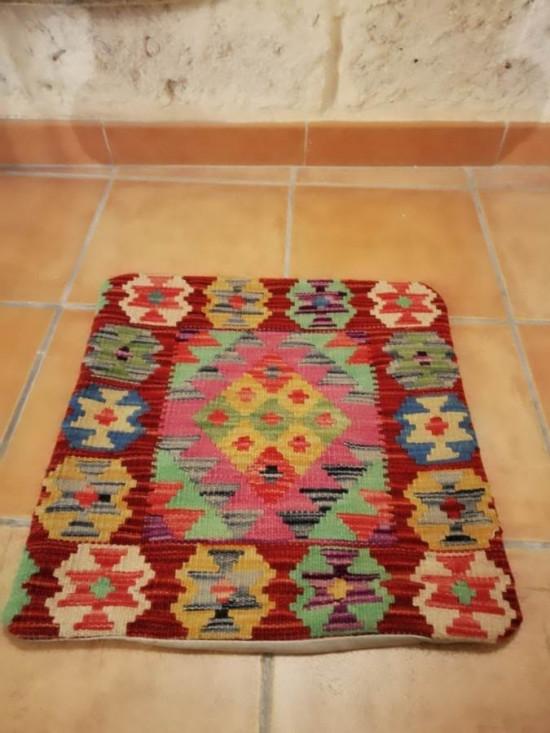 Fodera Cuscino stile afgano  35 misura 45x45 cm