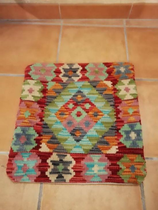 Fodera Cuscino stile afgano  40 misura 45x45 cm