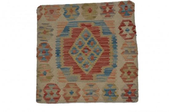 Fodera Cuscino stile afgano  46 misura 45x45 cm