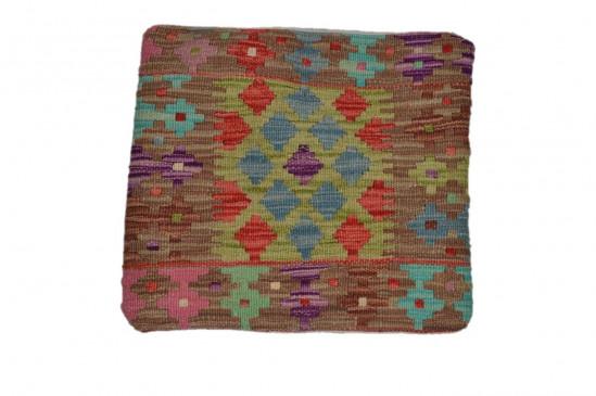 Fodera Cuscino stile afgano  48 misura 45x45 cm