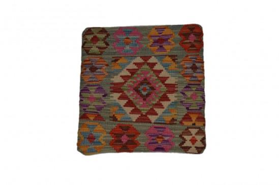 Fodera Cuscino stile afgano  51 misura 45x45 cm