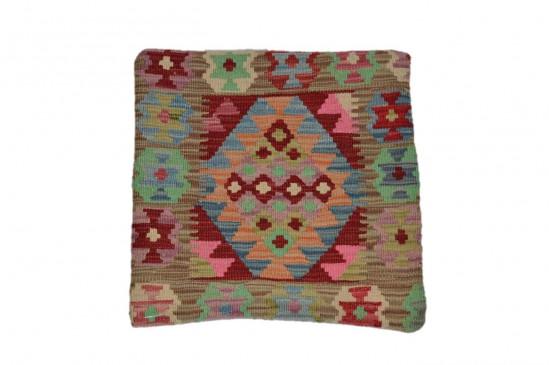 Fodera Cuscino stile afgano  52 misura 45x45 cm