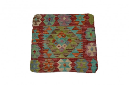 Fodera Cuscino stile afgano  53 misura 45x45 cm
