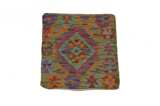 Fodera Cuscino stile afgano  71 misura 45x45 cm