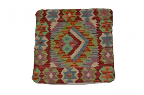 Fodera Cuscino stile afgano  76 misura 45x45 cm