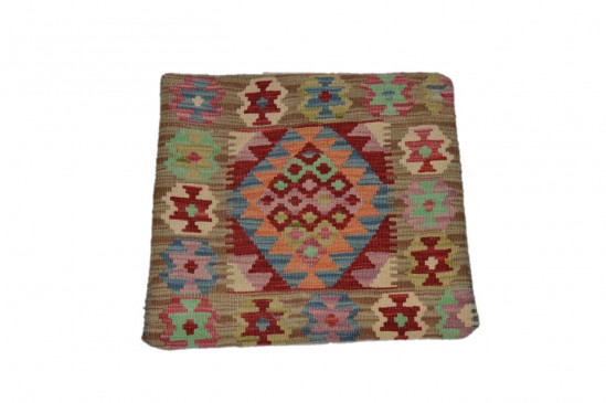 Fodera Cuscino stile afgano  77 misura 45x45 cm