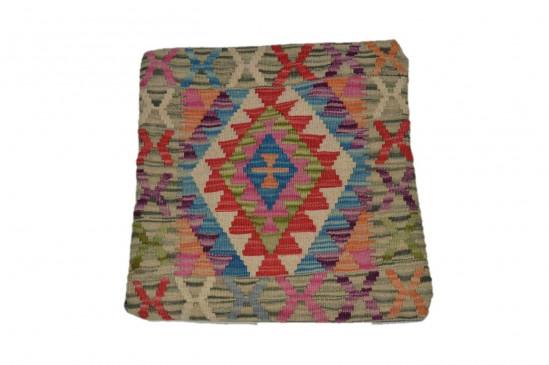 Fodera Cuscino stile afgano  81 misura 45x45 cm