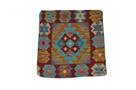 Fodera Cuscino stile afgano  90 misura 45x45 cm