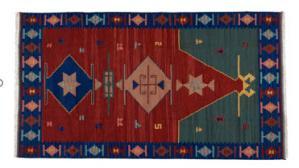 Corsia Kilim 43 ,dimensione 75x185 cm