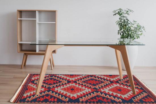 Tappeto Kilim Rettangolare FC03A misura 95x155 cm