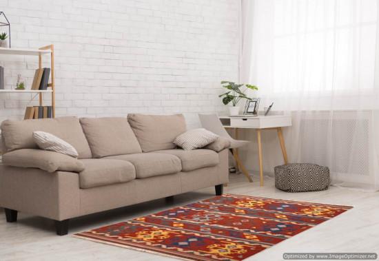 Tappeto Kilim Rettangolare FC505 misura 210x265 cm