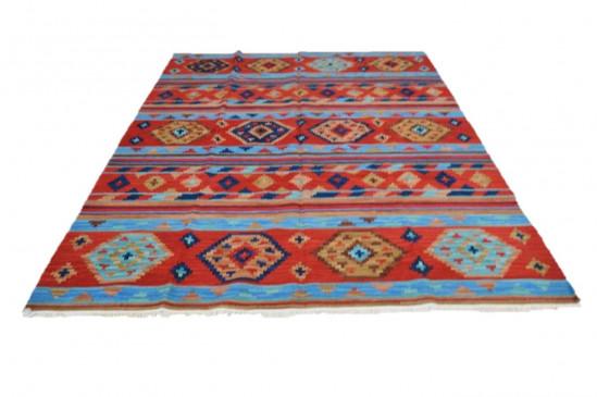 Afghan Kilim 7, Miss Cucci,Dimensione 265x210 cm