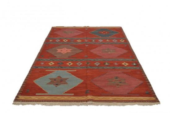 Afghan Kilim 10, Miss Cucci,Dimensione 175x235 cm
