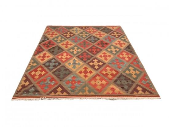 Afghan Kilim 12, Miss Cucci,Dimensione 255x310 cm