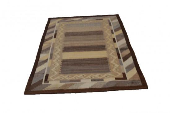 Tappeto Kilim 3-BR fatto a mano, 128x185 cm