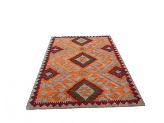 Afghan Kilim 27, Miss Cucci,Dimensione 175x235 cm