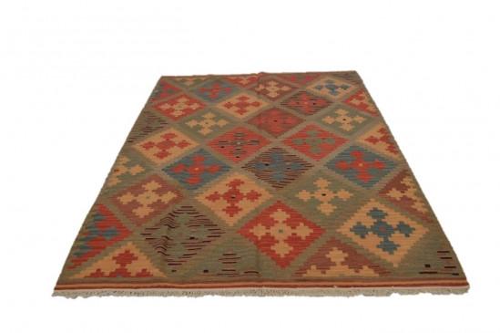 Afghan Kilim 17, Miss Cucci,Dimensione 175x235 cm
