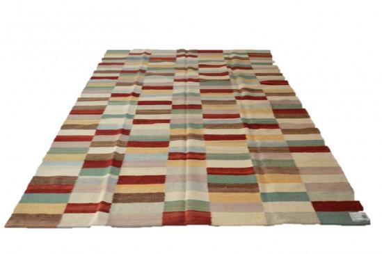 Tappeto Kilim 6-COL misura 210x265 cm