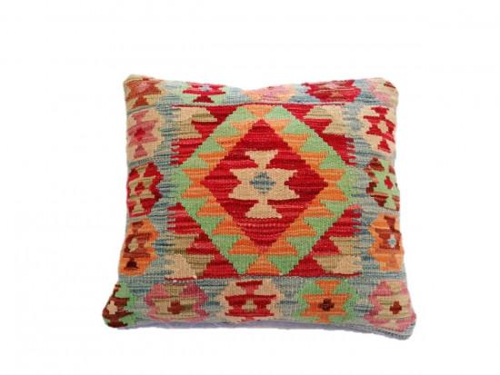 Fodera Cuscino stile afgano  2 misura 45x45 cm