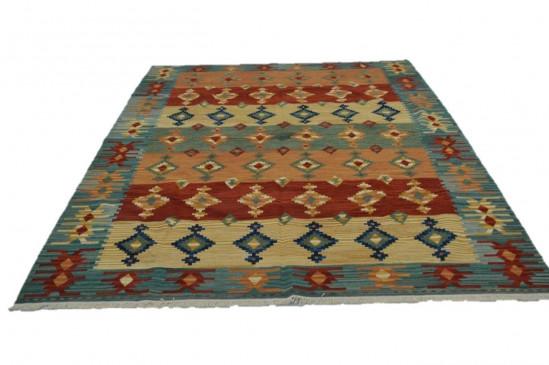 Afghan Kilim 22, Miss Cucci,Dimensione 265x210 cm