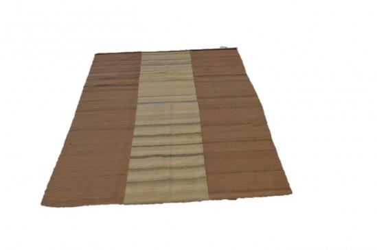 Tappeto Kilim 5-WH fatto a mano, 128x185 cm