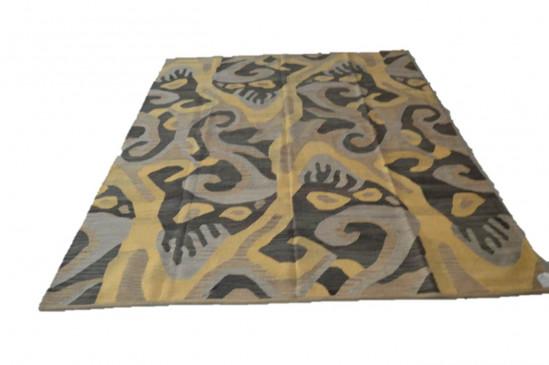 Tappeto Kilim U-GREY misura 210x265 cm