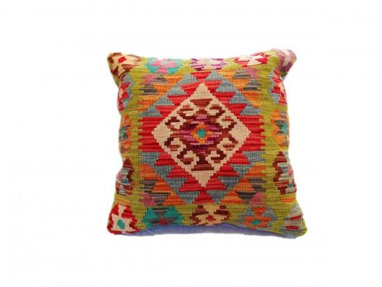 Fodera Cuscino stile afgano  3 misura 45x45 cm