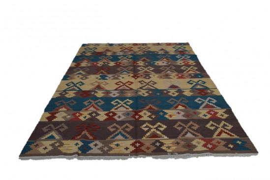 Afghan Kilim 5, Miss Cucci,Dimensione 265x210 cm