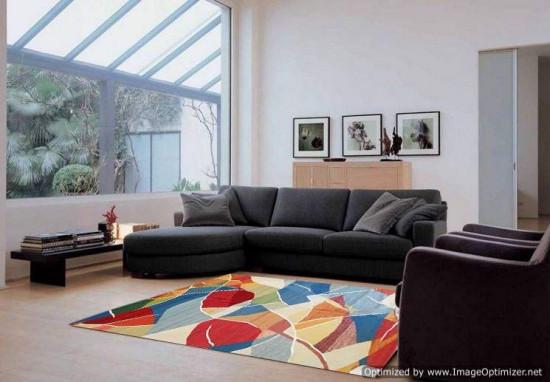 Tappeto Kilim Limin Sumak Moderno - Dimensioni 200x300 cm