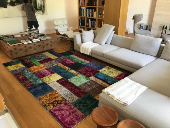 Tappeto Patchwork Multicolor
