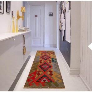 Tappeto Kilim per Passatoia: ideale per cucina e ingresso - Dimensioni 75x185 cm