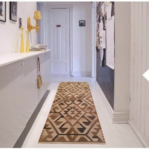 Tappeto Kilim BRIC2A per passatoia: ideale per cucina e corridoio