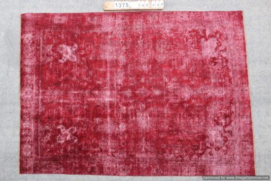 Tappeti Iraniani Vintage Overdyed 1375 misura 349x249 cm