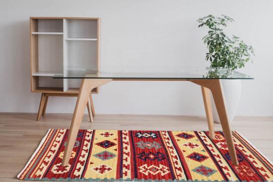 Tappeto Kilim SF02 per ingresso e salotto 95x155 cm