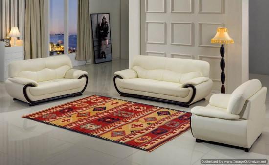Tappeto Kilim Rettangolare Fatto a Mano SF06 misura 128x185 cm