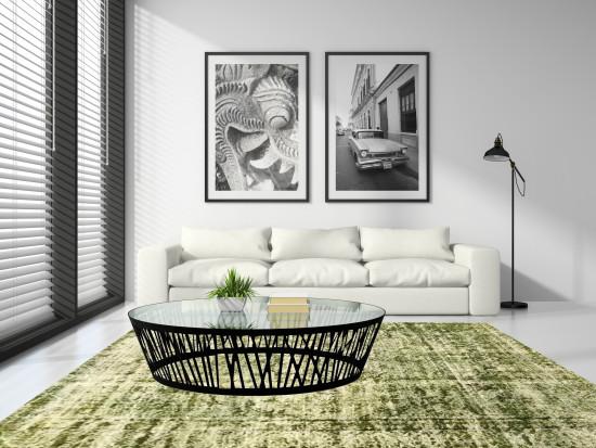 Tappeto Iraniano Vintage Overdyed 143 - Dimensione 332x264 cm