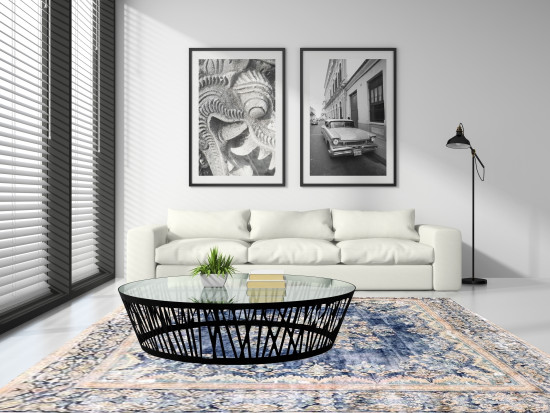 Tappeti Iraniani Vintage Overdyed 147, Dimensione 367*286 cm