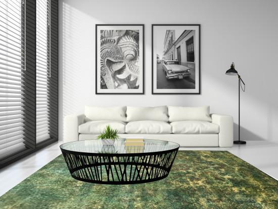 Tappeti Iraniani Vintage Overdyed 138 - Dimensioni 353x240cm